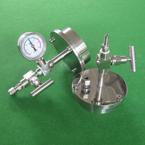 Vacuum Flange Of Tube Furnace - Laboratory Muffle Furnace