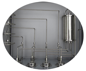 four channel gas mixing system